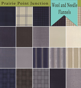 Wool and  Needle Flannel IV